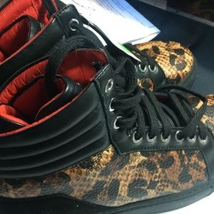 MCM Shoes - MCM Fashion womens  high-top sneakers 37 EU